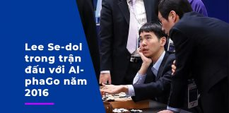 Le Se-dol trong trận đấu với AlphaGo năm 2019