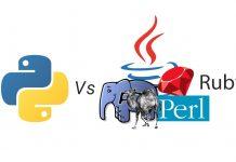 So sánh Python với PHP, Java, Ruby, Perl