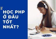 Học PHP ở đâu tốt nhất